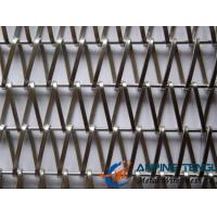 Quality Spiral Weave Mesh, Flat Spiral Wire + Straight Rod Type, For Curtain wholesale