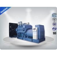 China MTU Engine Heavy Duty Diesel Generator 24V DC Electric 50hz 2250-2500 kw / kva on sale