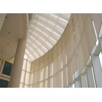 China Long Commercial Internal Electric Blinds Architectural Building Shade System on sale