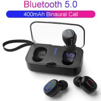 Quality Bluetooth Wireless Earbuds Mini 5.0 TWS Ear-to-ear Wireless Mini Bluetooth Headset with Charging Bin wholesale