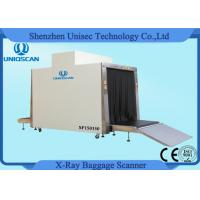 Quality 1.5*1.5m Tunnel Big Size Cargo X - ray Scanning System with 500 Kg Conveyor Load wholesale
