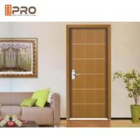 Quality Modern Aluminum MDF Interior Doors For Home / Hotel And Apartment wholesale