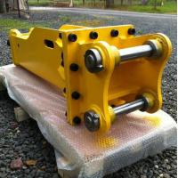 China Compact Excavator Attachments High Performance 1500 Mm Chisel Length on sale
