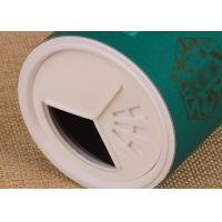Buy cheap Plastic Shaker Lid Eco-Friendly Paper Composite Cans for Spice / Salt / Powder product