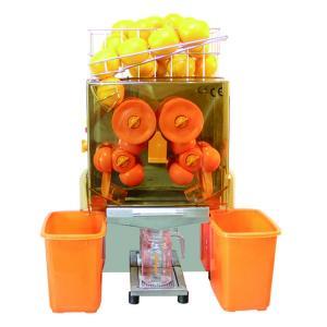 Quality Commercial Juice Extractor Machine Auto Feed Orange Squeezer Compact Design wholesale