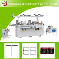 China Gold Stamp Equipment Automatic Die Cutting Machine For Flexo Printer Material on sale