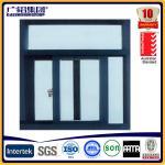 Quality powder coated aluminium sliding window with screens wholesale