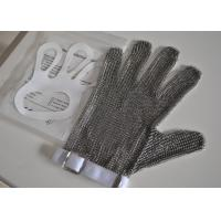 Quality Stainless Steel Chainmail Safety Working Protective Gloves for Butchering wholesale
