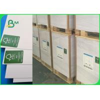 Quality FSC Top Stiffness Smoothness Ivory Board Paper / 300g One Side Coated Folding Box Board For Drug Box wholesale