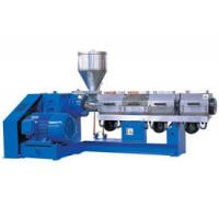 China Water Pipe Pvc Twin Screw Extruder , Automatic Control Plastic Extrusion Machine on sale