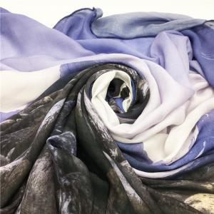 China Fashion Digital Printing Silk Scarf Madal on sale