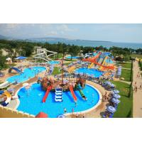 Quality Small Interactive Family Water Playground Equipment Kids Swimming Pool Water Slide wholesale