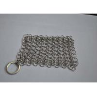 Quality Polished 316L Ring Wire Stainless Steel Chainmail Scrubber For Food wholesale