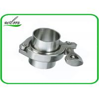 Quality ISO 2852 Sanitary Stainless Steel Tri Clamp Fittings , Clamp Pipe Couplings For Food Industry wholesale