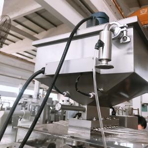 China Automatic Fish Oil Cosmetic Soft Gel Capsule Machine , Softgel Encapsulation Machine on sale