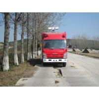 Quality Large Capacity Motorized Fire Truck ISUZU Gas Supply ISO9001 Certificated wholesale