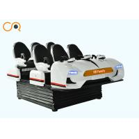 Buy cheap Electric System 9D VR Chair / Family 6 Seats Virtual Reality 12d Cinema from wholesalers