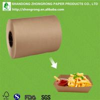 Buy cheap PE coated paper for disposable food tray product