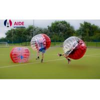 Quality Red Free Shipping Inflatable Sports Equipment Water Roller Ball 100% Tpu wholesale