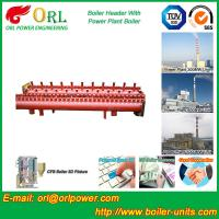 Buy cheap Low Loss Boiler Header Manifolds / Boiler Steam Header Non Pollution from wholesalers
