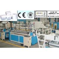 Cheap Toilet Paper Embossing Rewinder for sale