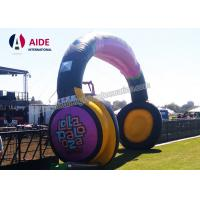 Quality Cartoon Funny Custom Inflatable Arch Party Entrance Decorations Earphone wholesale