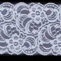 Quality Elastic Lace Trims, Available in Various Colors, Customized Designs are Accepted wholesale
