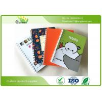 Quality Promotional Glossy Lamination Personalized Spiral Notebooks Recycled CMYK Printed OEM wholesale