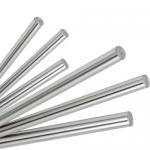 China hard chrome piston rod stock 12mm chrome linear shaft rod for sale