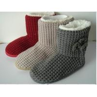 Quality Fashion / Cute Styles Womens Knitted Boots / Warm Snow Boots wholesale