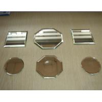 Quality 3 - 6mm Clear , Bronze , Grey Silver Mirror Glass panel with Pencil , Flat , Beveled Edge wholesale