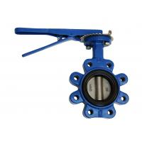 China Professional DN80 Wafer Lug Butterfly Valve Precise Geometric Size on sale