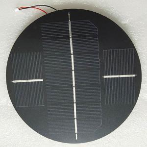 Quality Round 6V Mini Epoxy Resin Solar Panel Polycrystalline Material Anti - PID wholesale
