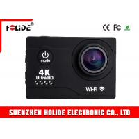 Quality Wide Angle Outdoor Sports Camera HDMI USB 2.0 Port Underwater Action Camera 4K Mini Action Camera wholesale