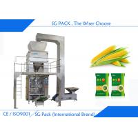 Quality Grain Seeds Vertical Form Fill And Seal Packaging Machines Polished Surface wholesale