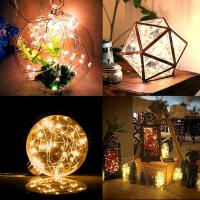 Quality Mini Led Fairy Fun Outdoor String Lights Terrific Decorating 8 Modes wholesale