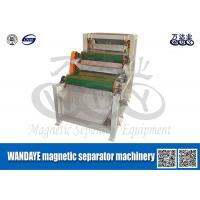Quality Double Layer Conveyor Belt Magnetic Separator , Magnetic Roll Separator wholesale