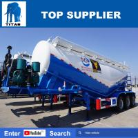 China low price 60m3 cement bulker 3 axles unloading bulk cement tankers sale in kenya - TITAN VEHICLE on sale