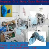 Cheap Non-woven/PE shoes cover making machine with high quality for sale
