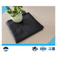 Quality Recycled PP / Virgin PP Material Woven Geotextile Fabric For Separation 580g wholesale