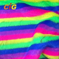 Buy cheap Decorative Polyester Fake Fur For Car Seat Cover / Garments /Cushin 150CM Width from wholesalers