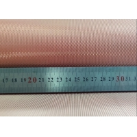Copper EMI Shielding Micro Hole Expanded Metal Mesh for Military for sale