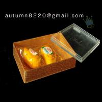 Quality BO (45) golden acrylic cosmetic case wholesale