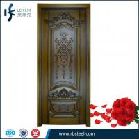 Quality 2015 new design high end customized timber door manufacturers China wholesale