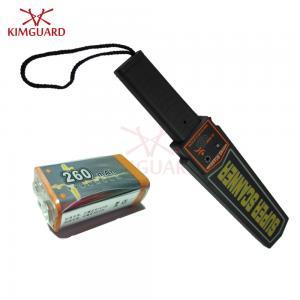 Buy cheap Super Sensitive Pocket Sized Portable Metal Detector For Port Prison Bank Sound from wholesalers