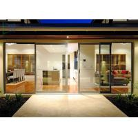 Quality Functional System Aluminium Alloy Sliding Glass Doors With Undisturbed Views wholesale