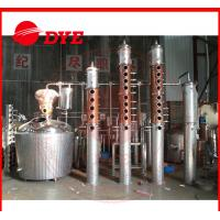 Quality 1 - 3Layers Small Commercial Wine Making Equipment With Dephlegmator wholesale