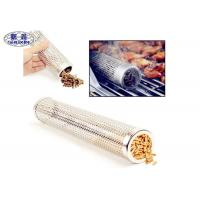 Quality Smokincube Wood Pellet Smoker Tube Perforated Stainless Steel For Barbecue wholesale