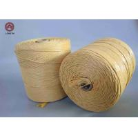 Quality Fibrillated Twisted PP Filler Yarn Best Breaking Load Winding on Paper Tube wholesale
