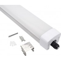 China Warehouse Batten 30w 40w 60w Ip66 Tri Proof Exterior Linear Led Lighting on sale